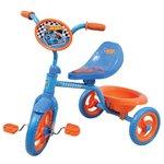 Велосипед трехколесный Hot Wheels синий/оранжевый